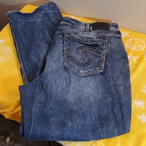 Silver Suki High Slim Boot Jeans